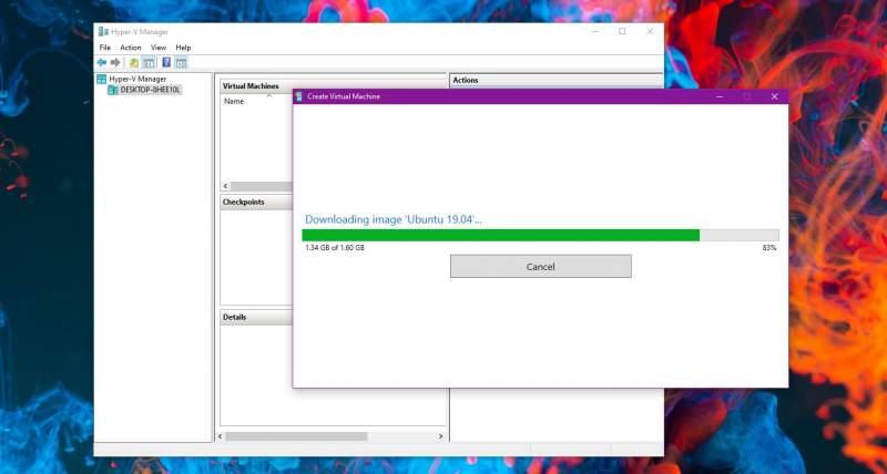 Cách tạo máy ảo Ubuntu trên Windows 10 bằng Hyper-V