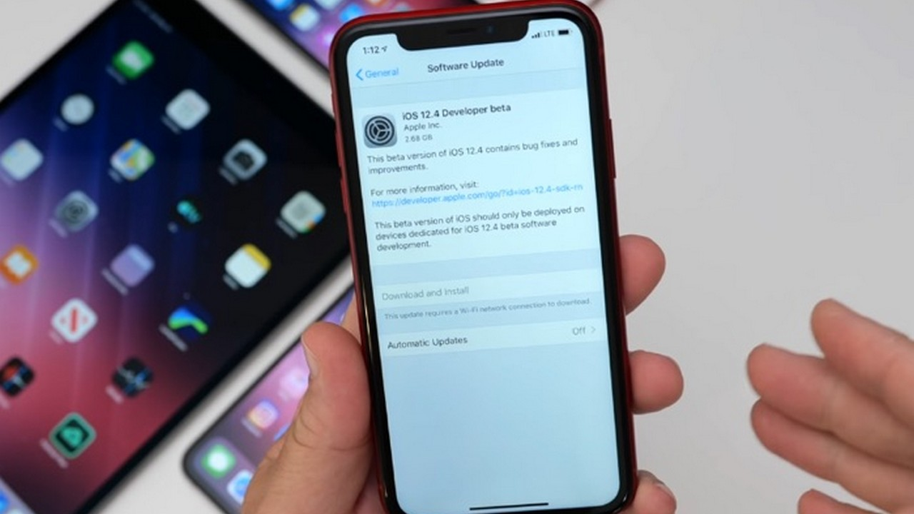 ios 12 4 beta 2 featured - Apple phát hành iOS 12.4 beta 2