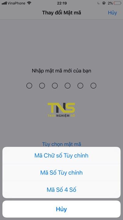 ios passcode 2 - Cơ bản: Cách dùng mật khẩu gồm chữ lẫn số trên iPhone