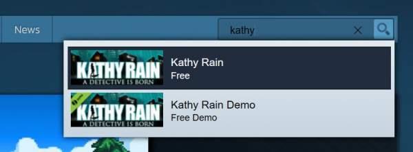 kathy rain free steam 600x221 - Đang miễn phí game phiêu lưu giải đố Kathy Rain