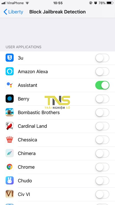 Cách ẩn jailbreak trên máy iOS 12