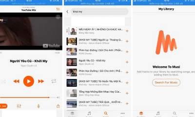 musi featured 400x240 - Musi - nghe nhạc YouTube khi tắt màn hình dễ dàng