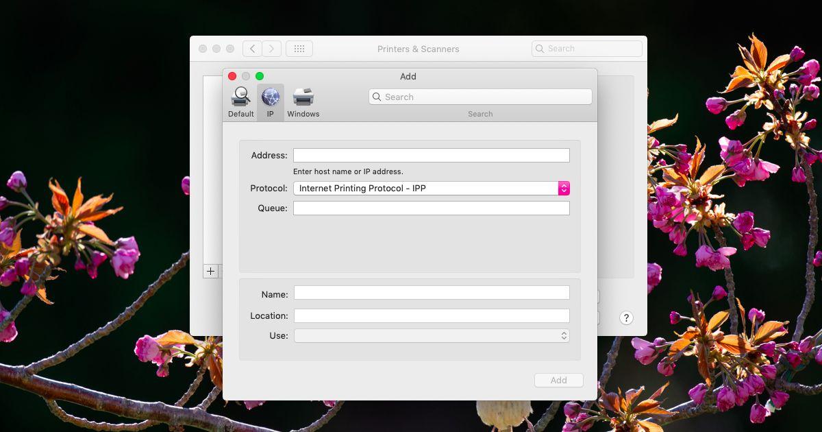 network printer mac - Cách cài thêm máy in trên macOS