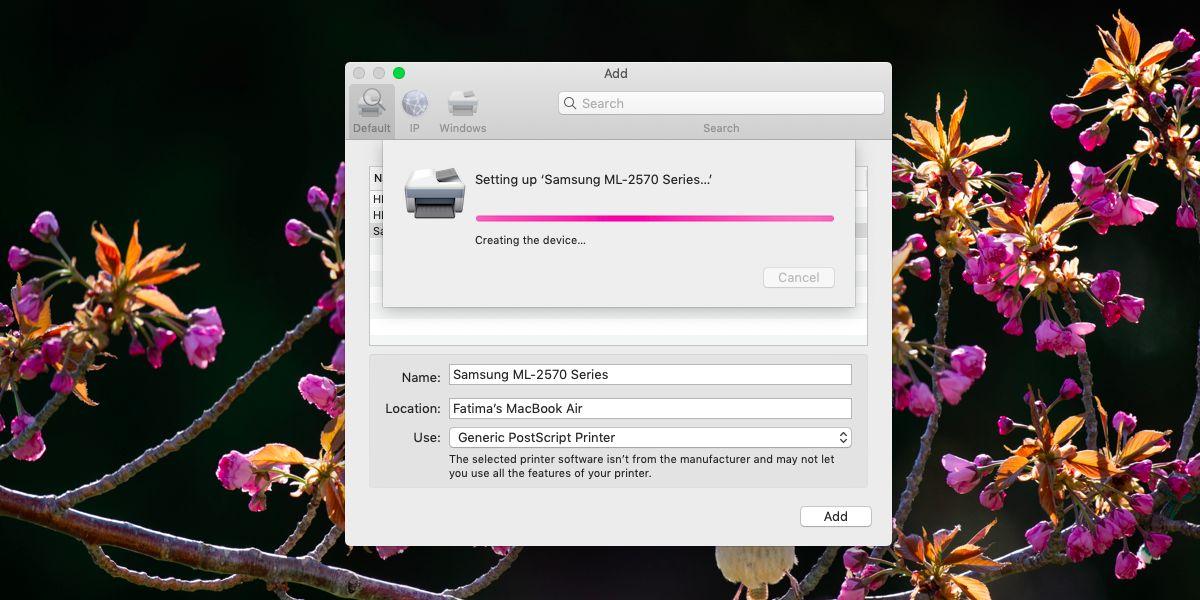 set up printer macos - Cách cài thêm máy in trên macOS