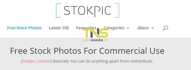 stokpic - Thêm nhiều địa chỉ tìm hình ảnh chất lượng cao miễn phí