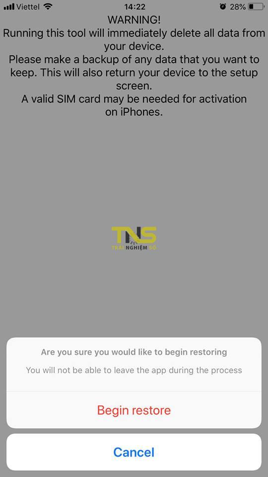 succession 4 - Hướng dẫn restore iOS giữ nguyên phiên bản với Succession
