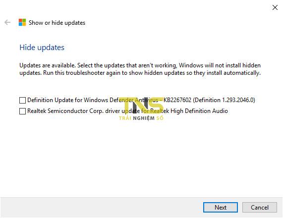 update driver 3 - Cách chặn cập nhật driver trên Windows 10