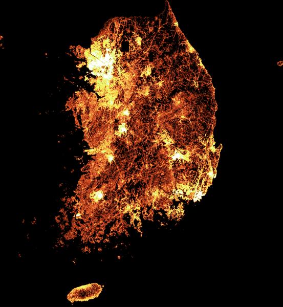 Facebook sáng tạo bản đồ mật độ dân số chi tiết nhất thế giới cho khu vực Châu Á Thái Bình Dương