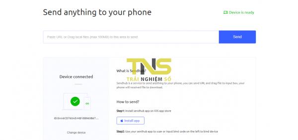 2019 06 19 15 58 35 600x282 - Chuyển file từ máy tính vào iPhone với SendHub