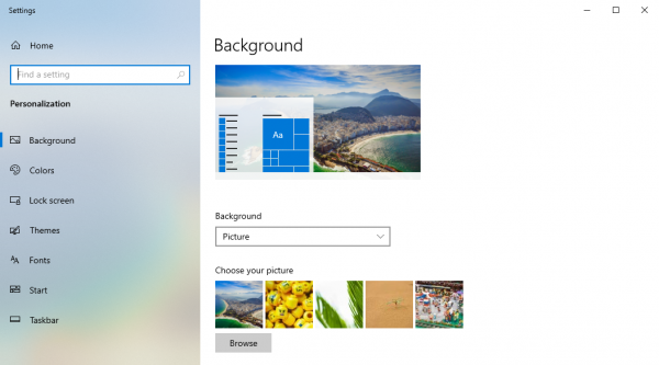 2019 06 21 15 44 47 600x333 - Cách thay hình nền desktop trên Windows 10 tự động bằng hình nền màn hình khóa
