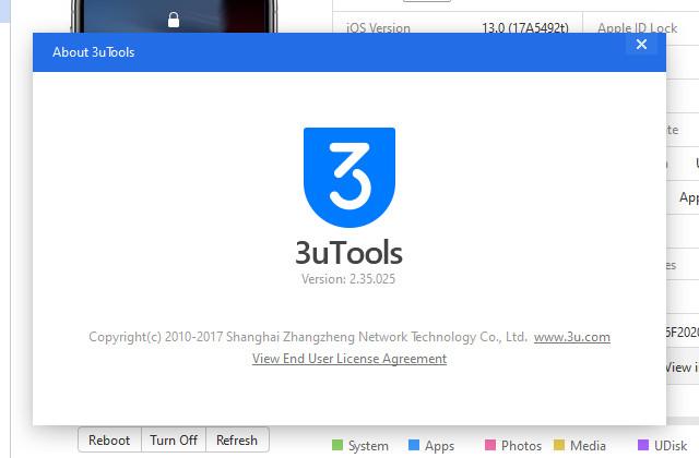 3uTools đã cho phép bạn nâng lên bản iOS 13 beta 1