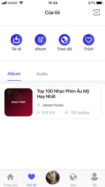 IMG 1030 337x600 - Trải nghiệm WeWe: Mạng xã hội âm thanh đầu tiên tại Việt Nam