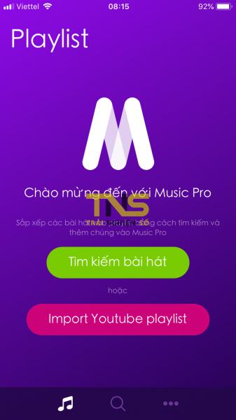 IMG 1138 337x600 - Music Pro: lựa chọn mới nghe nhạc YouTube tắt màn hình