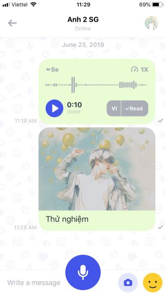 IMG 1230 337x600 - SpeakApp: Nhắn tin đa nền tảng miễn phí