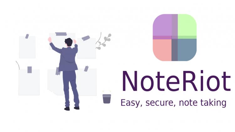 NoteRiot 750x422 - Mở tab trên Chrome trong cửa sổ Focus Mode
