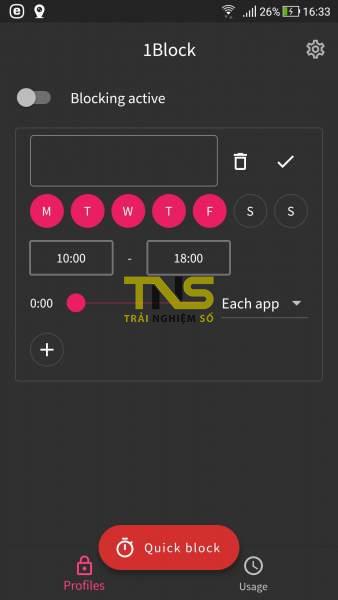 Screenshot 20190618 163332 338x600 - Ngăn sử dụng ứng dụng Android với 1Block