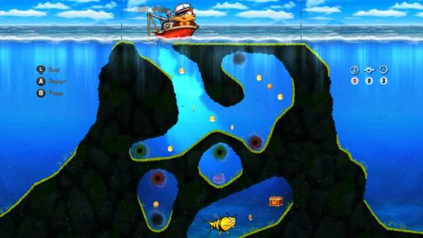 captain cat switch screenshot 1 600x338 - Đánh giá game Captain Cat