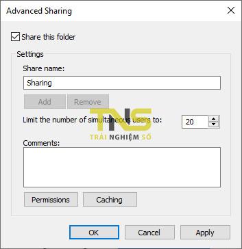 Cách share file trên Windows 10 qua giao thức SMB 8