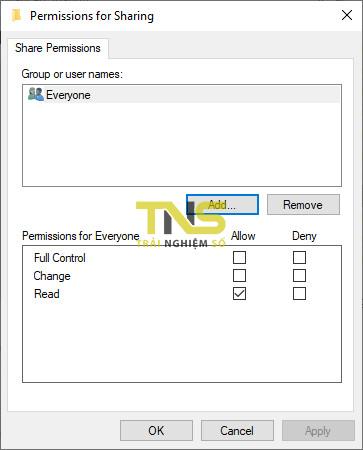 Cách share file trên Windows 10 qua giao thức SMB 9