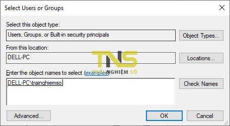Cách share file trên Windows 10 qua giao thức SMB 10