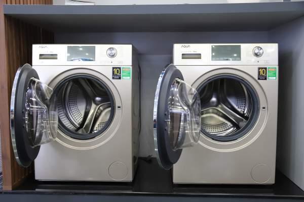 11. May giat cua truoc long giat 525MM 6 1 600x400 - AQUA Việt Nam khánh thành nhà máy máy giặt với khả năng cung ứng hơn 500.000 sản phẩm/năm