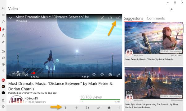 2019 06 13 14 38 39 600x359 - FoxTube: Trình xem video YouTube mới nhất cho Windows 10