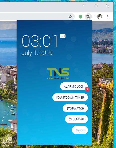 2019 07 01 15 01 36 - Cool Clock: Tiện ích đồng hồ đa năng và thú vị cho Chrome