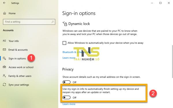 2019 07 10 17 20 57 600x374 - Ngăn Windows 10 mở lại ứng dụng sau khi khởi động hay cập nhật hệ thống