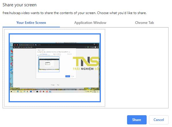 Quay video màn hình không cần cài đặt từ Chrome 2