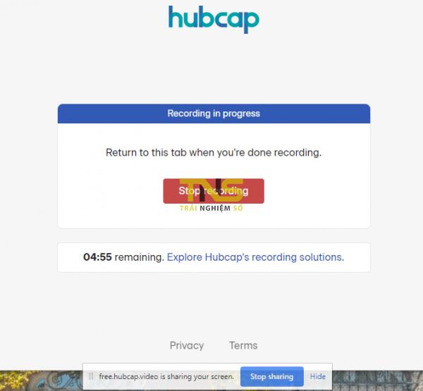 Quay video màn hình không cần cài đặt từ Chrome 3
