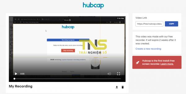 Quay video màn hình không cần cài đặt từ Chrome 4