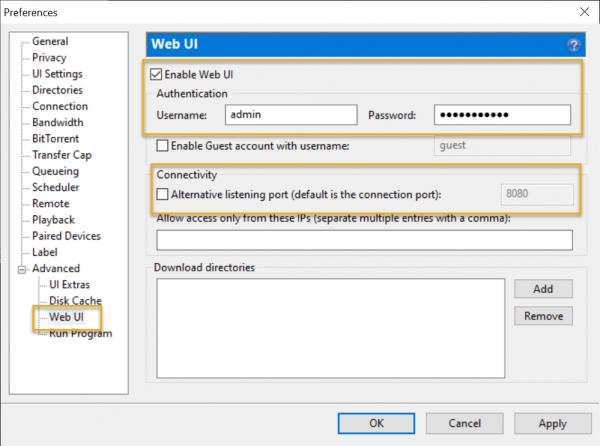 Quản lý và điều khiển tiến trình tải file trên máy tính từ iOS, Android 3