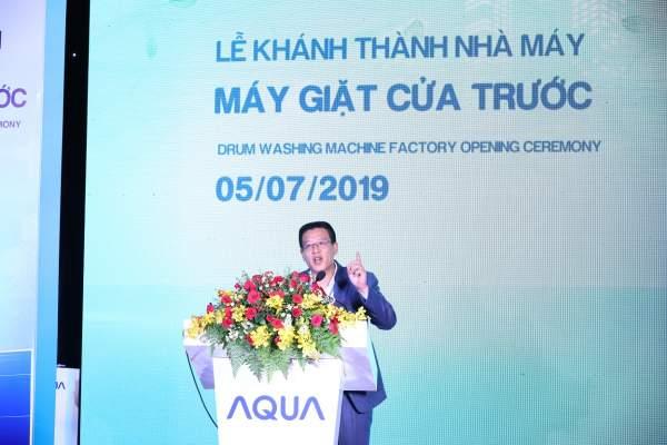 AQUA 3 600x400 - AQUA Việt Nam khánh thành nhà máy máy giặt với khả năng cung ứng hơn 500.000 sản phẩm/năm