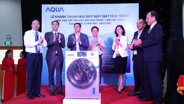 AQUA 600x338 - AQUA Việt Nam khánh thành nhà máy máy giặt với khả năng cung ứng hơn 500.000 sản phẩm/năm