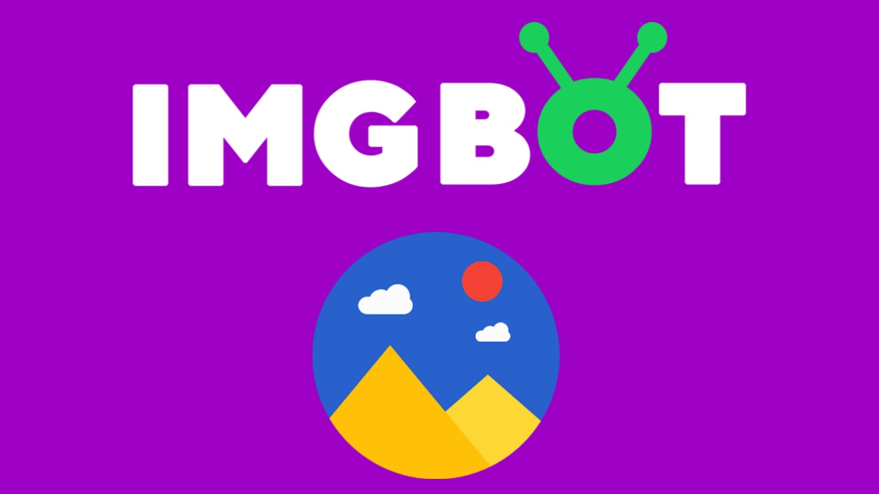 ImgBot - Giảm dung lượng ảnh kết hợp đóng dấu bản quyền