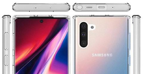 Samsung Galaxy Note 10 va Note 10 Plus - Lộ ảnh chi tiết Samsung Galaxy Note 10 và Note 10 Plus