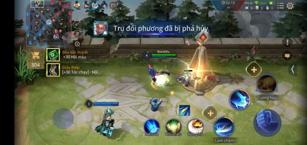 4 tựa game MOBA hay trên mobile năm 2019 3