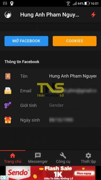 Screenshot 20190729 160154 338x600 - Ẩn đã xem tin nhắn, trả lời tin nhắn tự động, hẹn giờ đăng bài viết Facebook,… trên Android