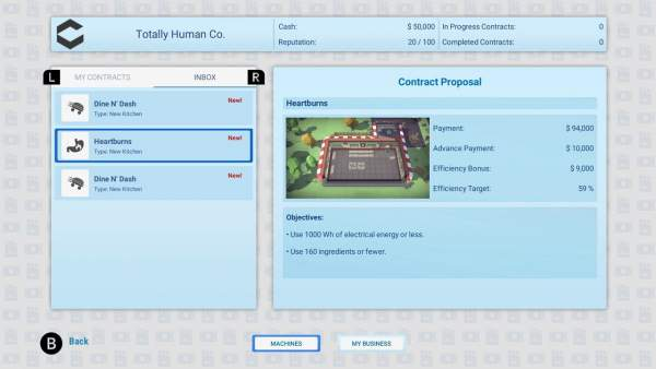automachef switch screenshot 3 600x338 - Đánh giá game Automachef