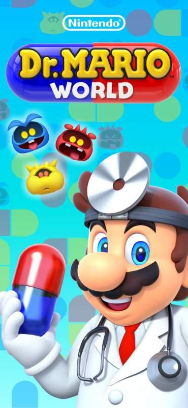 """dr mario world 370x800 - Game""""xếp thuốc"""" kinh điển Dr. Mario World đã ra mắt, mời bạn tải về"""