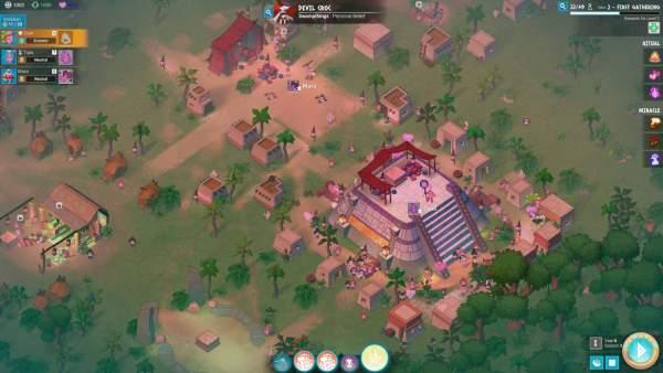 godhood screenshot 1 600x338 - Đánh giá game Godhood (Early Access)