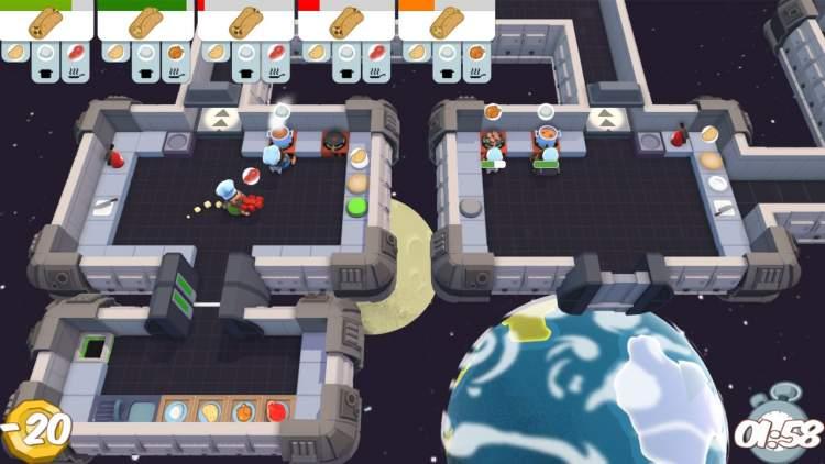 Đang miễn phí game Overcooked trên Epic Games Store