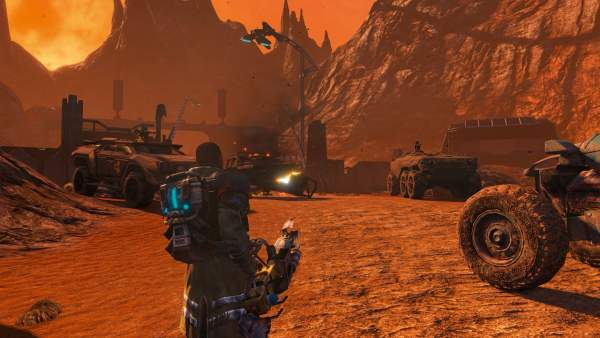 red faction guerrilla re mars tered switch screenshot 1 600x338 - Đánh giá game Red Faction Guerrilla: Re-Mars-tered phiên bản Switch