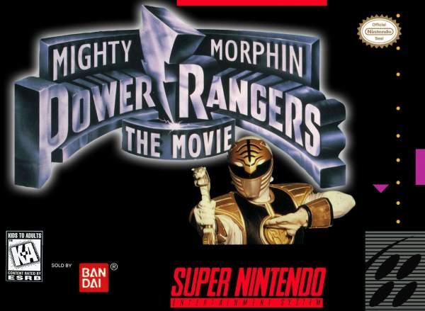 snes mighty morphin power rangersmovie p gnk4fs 600x439 - Top những tựa game 5 anh em siêu nhân (Power Rangers) đáng chơi nhất