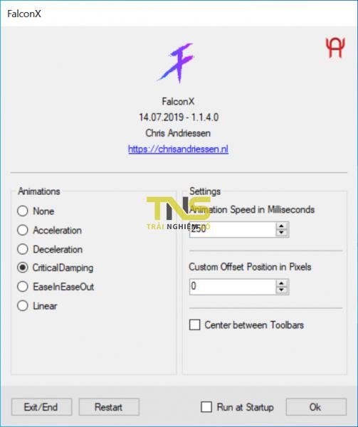 2019 08 01 9 49 30 503x600 - FalconX: Giả thanh Dock của Mac vào Windows 10