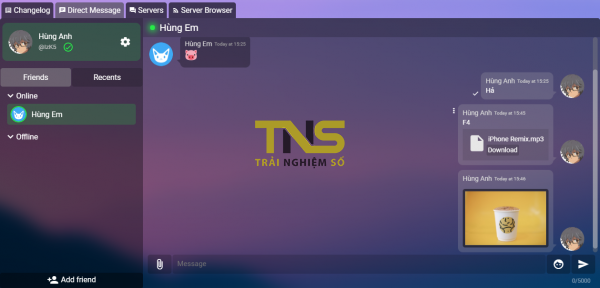 2019 08 05 15 46 59 600x288 - Lập phòng chat miễn phí và riêng tư với Nertivia