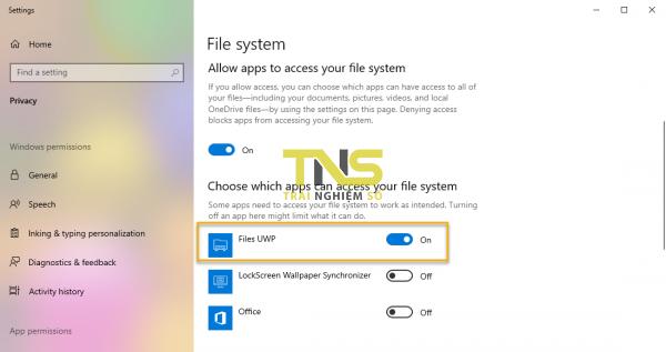 Quản lý dữ liệu trên Windows 10 theo tab với Files UWP