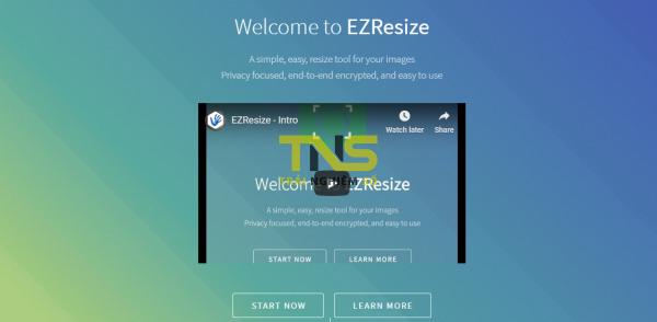 EZResize: Chỉnh sửa kích thước ảnh trên nền tảng blockchain 1