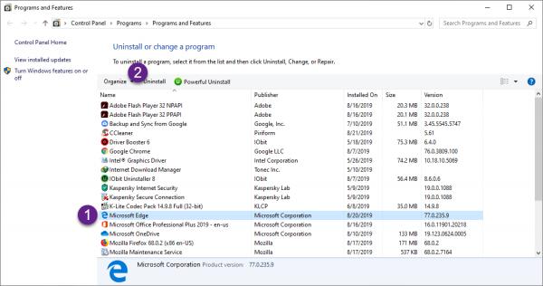 """Cách tắt Microsoft Edge Chromium """"vĩnh viễn"""" tự mở trên Windows 10 2"""
