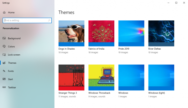 Chia sẻ 4 theme mới tháng 9/2019 cho Windows 10 1